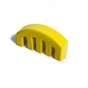 Custom Sky Music Brand New Lightweight Heavy Rubber Acoustic Violin Viola Mute Yellow color