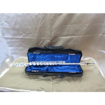 Custom Gemeinhardt 3S C Foot Flute Silver Head Gold Lip plate