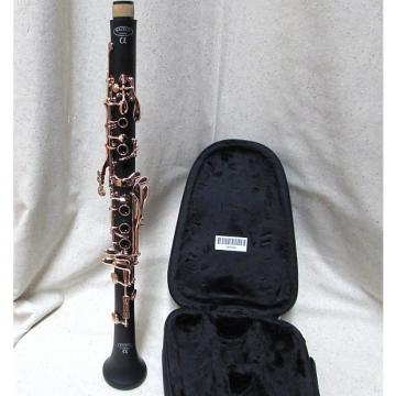 Custom Backun Alpha Bb clarinet Rose Gold Keys