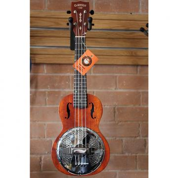 Custom Gretsch Ukulele G9112 Resonator with Gig Bag Solid Mahogany