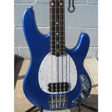 Custom OLP Bass Music Man, Ernie Ball Blue / White  W/ Gig Bag