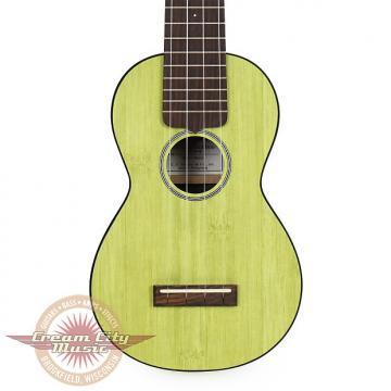 Custom Brand New Martin 0X Bamboo Soprano Ukulele in Green Uke