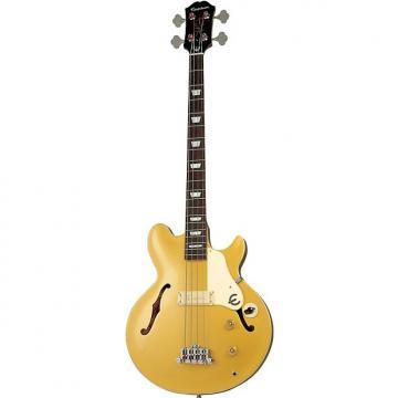 Custom Jack Casady Bass Metal Gold Accastillage Chrome