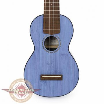 Custom Brand New Martin 0X Bamboo Soprano Ukulele in Blue Uke