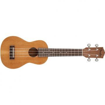 Custom Fender  Piha'Eu Soprano Ukulele Natural