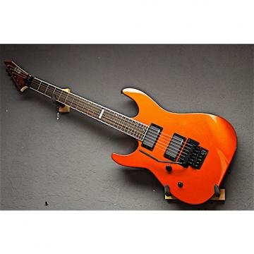 Custom ESP Left Handed LTD M-400M 2016 Agent Orange Lefty Guitar