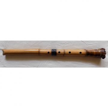 Custom Vintage 1.8  Tozan-ryu  Shakuhachi 1970's Natural Bamboo