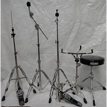 Custom TAMA HARDWARE PACK pedal, hihat, snare stand, straight and boom stand, throne