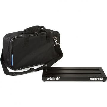 Custom PedalTrain Metro 16 Pedal Board with Soft Case PT-M16-SC