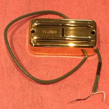 Custom TV Jones Super'tron Bridge Pickup Gold