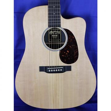 Custom Martin DCX1AE Mahogany Cutaway Acoustic Electric Guitar w/ Fishman Sonitone Natural