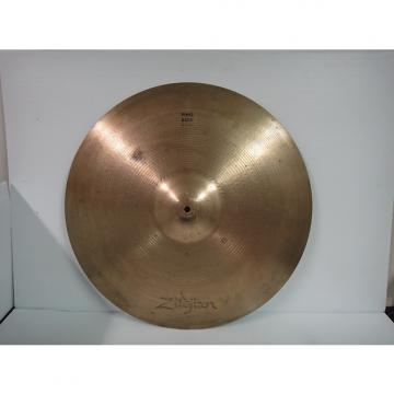 Custom ZILDJIAN  PING RIDE 22'' nice ride cymbal