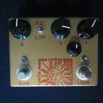 Custom Analogman  Analogman-Sun-Lion-White-Dot-NKT275-HG-Sun-Face-amp-Beano-Boost-Exc-Cond  Analogman-Sun-Lion-White- gold