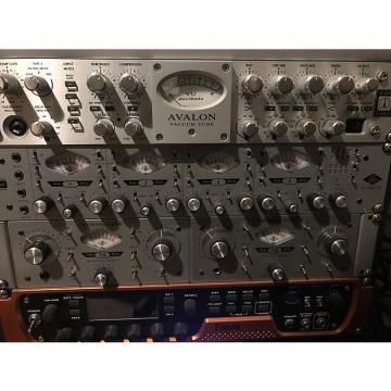 Custom Avalon VT737SP Class A Tube Mic Preamp/Comp/EQ 2014 Silver