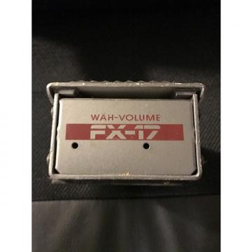 Custom DOD FX-17 Wah Volume Vintage Pedal 1990 Grey Free Shipping
