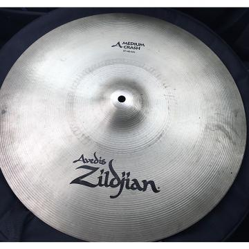 "Custom Zildjian 17"" Medium Crash Factory Finish"
