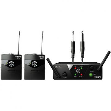 Custom AKG WMS40 Mini Dual Instrument Wireless Belt Pack System