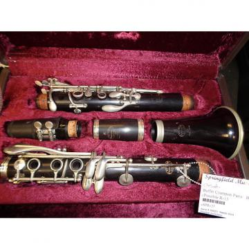 Custom used Buffet Crampon Bb Clarinet (Possily an R13) AS IS For parts or repair