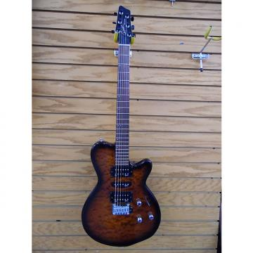 Custom Godin Soidac Guitar Transburst Light