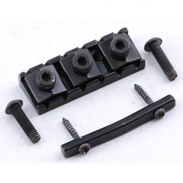 Custom Ibanez Standard 43mm Locking Nut Black Finish LN-2728