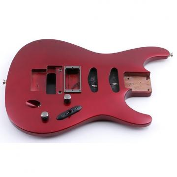 Custom 1991 Ibanez Japan 540S Black Cherry Mahogany Guitar Body BD-4746