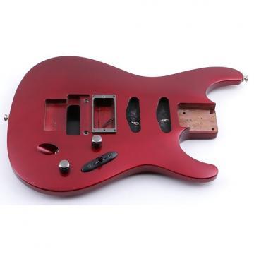 Custom 1991 Ibanez Japan 540S Black Cherry Mahogany Guitar Body BD-4746