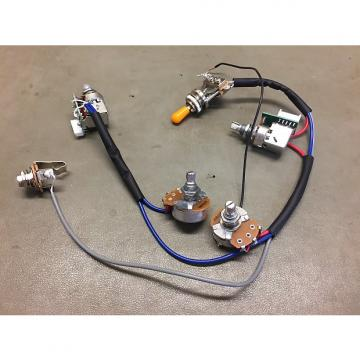 Custom Epiphone  Full wiring harness w/push/pull coil tap  2016