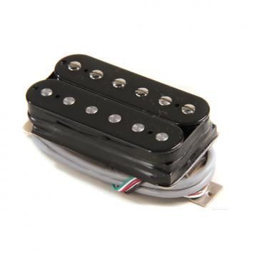 Custom Gibson 500T Super Ceramic Pickup - Double Black Bridge 4-Conductor