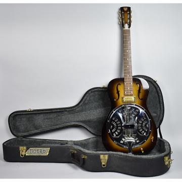 Custom Dobro Model 90 Roundneck w/Gibson Pickup Rosonator Elect. Guitar OHSC 1994