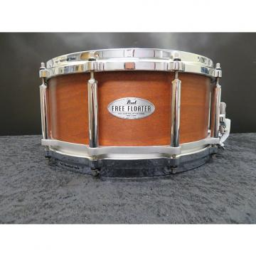 "Custom Pearl 6.5""x14"" Free Floating Maple Mahogany Snare Drum"