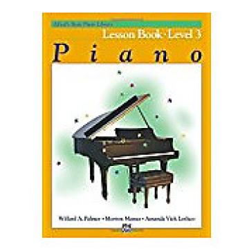 Custom Alfred's Basic Piano Library Level 3 - Lesson