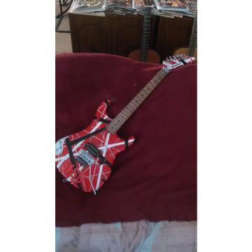 Custom Custom Kramer 5150 EVH Striped Reliced Baretta Brown Sound 78 Custom Shop Duncan Floyd Rose Screams
