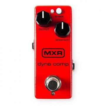 Custom MXR M291 Dyna Comp Mini Compressor pedal w/ ECB-003 9v power supply