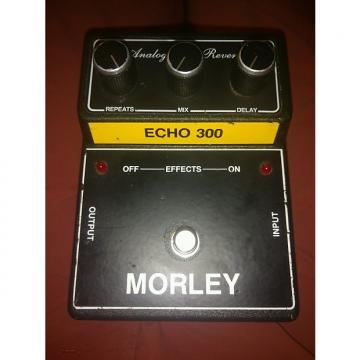 Custom Morley Analog Echo Reverb 90s Black