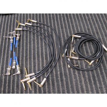 """Custom DigiTech 11 Guitar Pedals Cables, 90 Degree Hardwire + EGO6LL, 8"""", 18"""" + 36"""", Quality, Unused, Prices as the Lot"""