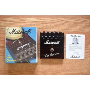 Custom Marshall Guv'nor Overdrive Made In England w/ Box & Manual late 80s Black