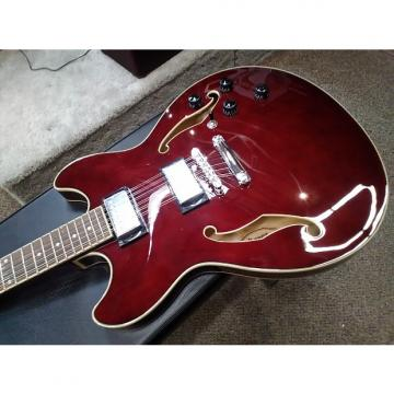 Custom Ibanez AS7312TCR 12 String Semi Hollow Electric Guitar, (Second Stock) Transparent Cherry