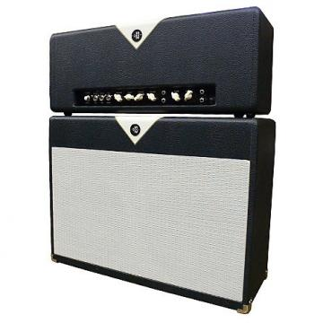 Custom Divided by 13 FTR37 Head & 2x12 Cab Blue/White