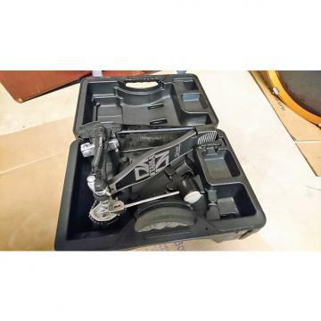 Custom Tama Power Glide Single Pedal w/Iron Cobra Hard Case 2000s Black & Gray