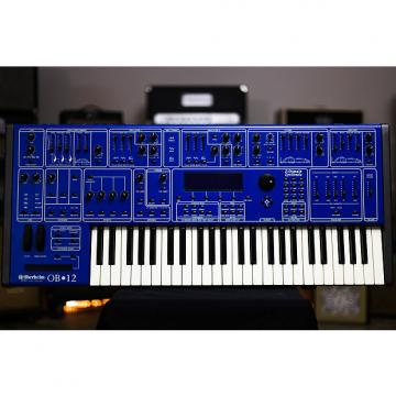 Custom RARE OBERHEIM OB-12 VIRTUAL ANALOG POLYPHONIC SYNTHESIZER grlc2131