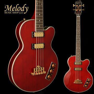 Custom Epiphone EBAKWRGH1 Allen Woody Limited Edition Rumblekat Bass Gold Hardware