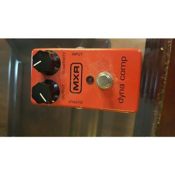 Custom MXR Dyna Comp  Red