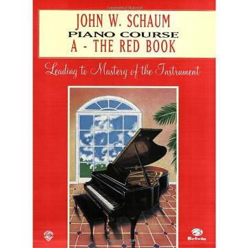 Custom John W. Schaum Piano Course - A The Red Book