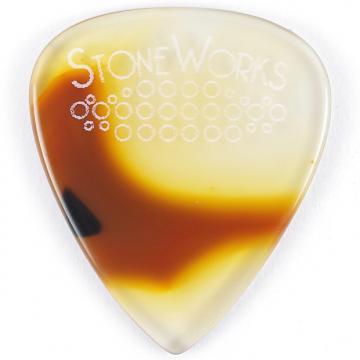 Custom Condor Agate - Stone Guitar Pick