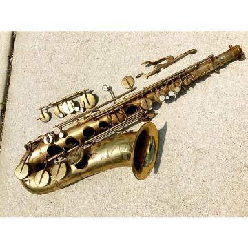 "Custom Beaugnier Vito ""DUKE"" Tenor Saxophone for parts repair France Sax Vintage Paris"