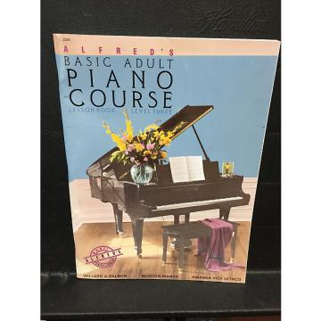 Custom Alfred's Basic Adult Piano Course lesson Book Level 3