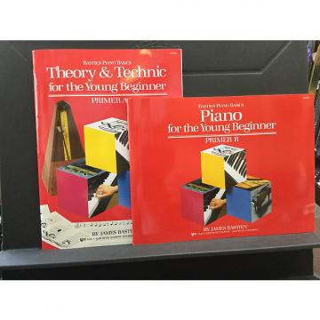 Custom Bastien Piano For the Young Beginner Primer Level - Theory & Technic B