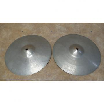 "Custom Zildjian  12"" Paper Thin Hi Hats 1930's"