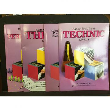 Custom Bastien Piano Basics Level 1 - Technic