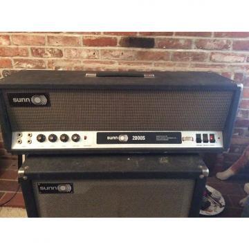 Custom 1970 Sunn 2000s Tube Amplifier